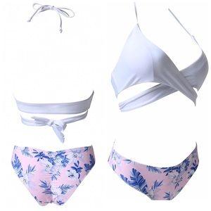 NEW padded push up bikini set, two pieces!
